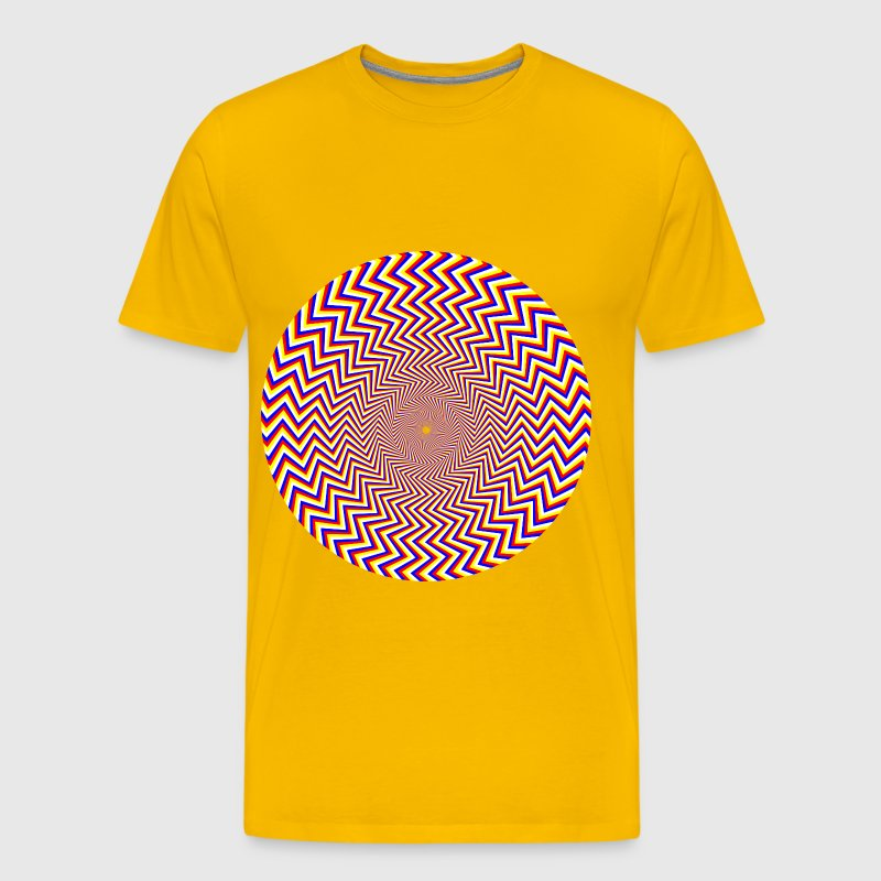 Fraser Spiral Illusion - Men's Premium T-Shirt