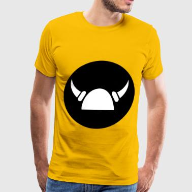 viking helmet - Men's Premium T-Shirt