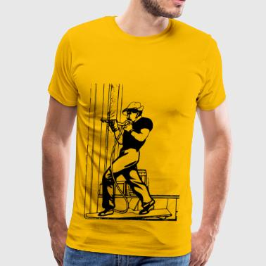 Construction Worker Construction Worker - Men's Premium T-Shirt