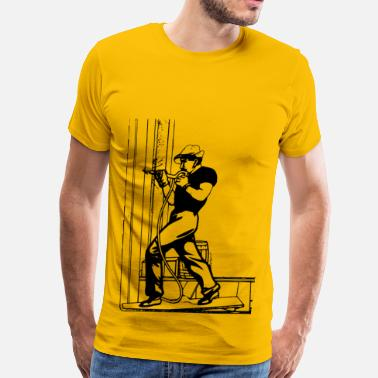 Construction Construction Worker - Men's Premium T-Shirt