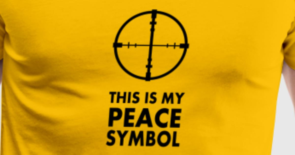 This Is My Peace Symbol By Martmel Us Spreadshirt