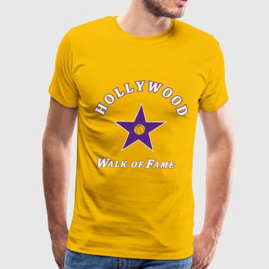 Hollywood Walk of Fame 3 - Men's Premium T-Shirt