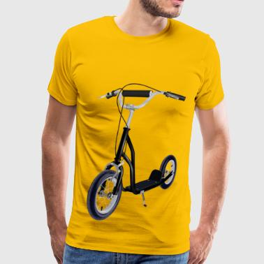 Kick Scooter - Men's Premium T-Shirt