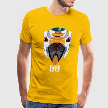 EVA 00 Head - Men's Premium T-Shirt