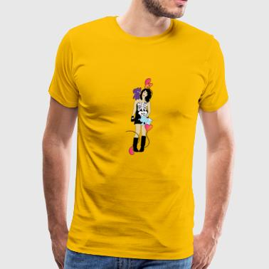 Emo Girl - Men's Premium T-Shirt