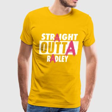 Liars liar straight outta radley - Men's Premium T-Shirt