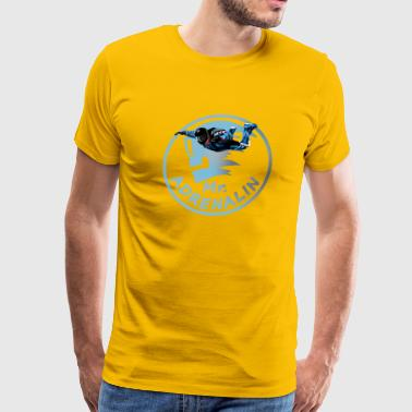 Mr  Adrenalin Skydive - Men's Premium T-Shirt