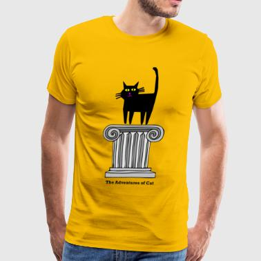 Cat Ascends - Men's Premium T-Shirt