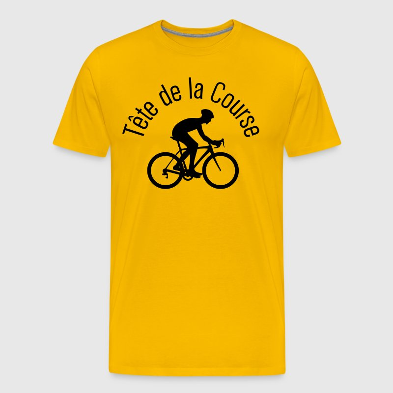Tete de la Course - Men's Premium T-Shirt