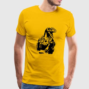 Raptorjesus - Men's Premium T-Shirt