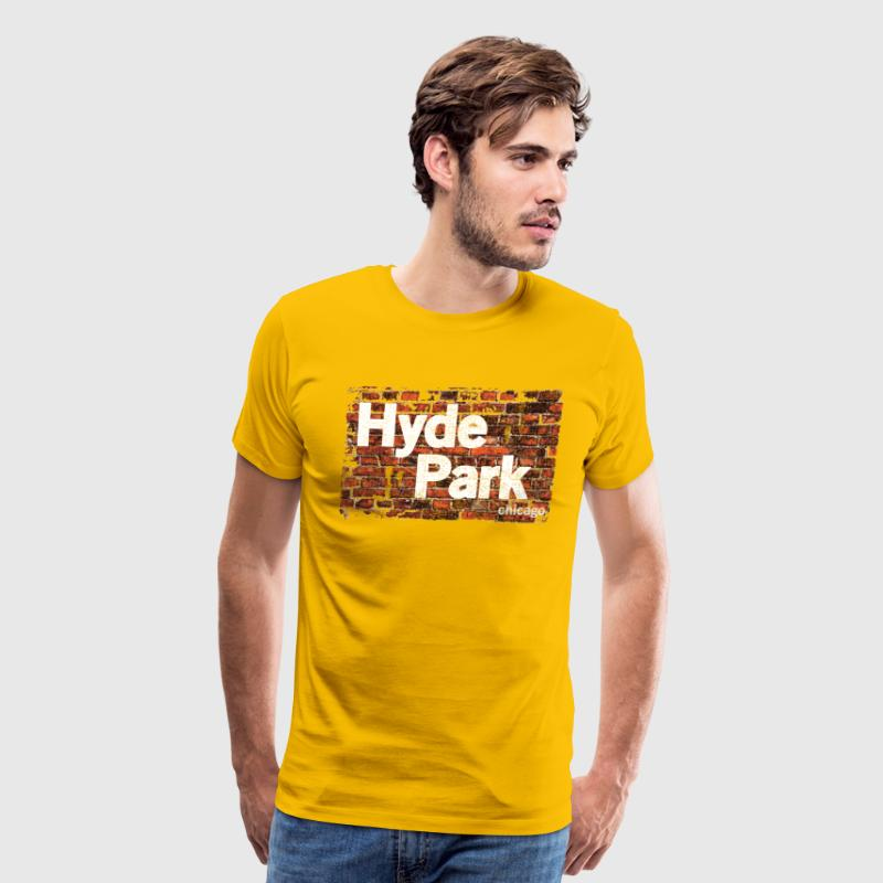 Hyde Park Chicago Neighborhood Clothing Apparel - Men's Premium T-Shirt