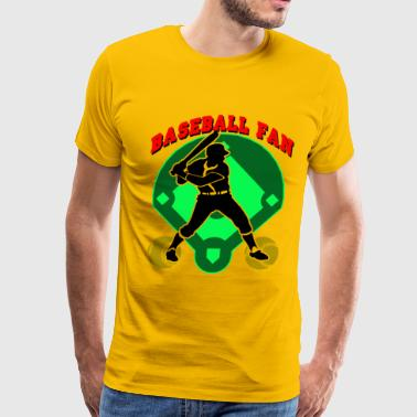 Baseball Fan Design - Men's Premium T-Shirt
