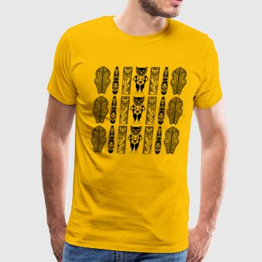 African Art - Decorative - Men's Premium T-Shirt