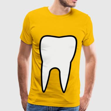 Tooth molar - Men's Premium T-Shirt