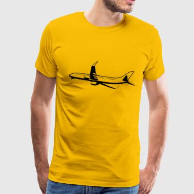 Airplane Flying fly Airplane - Men's Premium T-Shirt