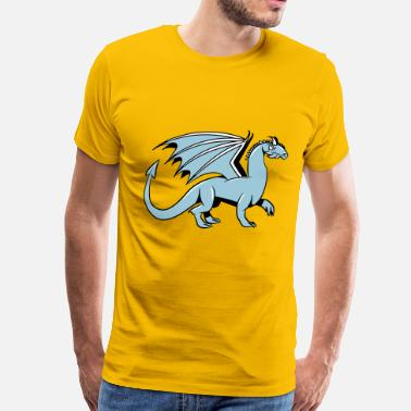 Cool Wings Dragon wings cool fairytale - Men's Premium T-Shirt
