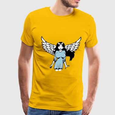 Angel wings sexy comic - Men's Premium T-Shirt