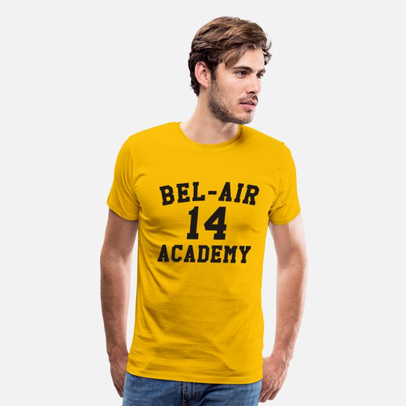 90s T-Shirts - Will Smith – Bel-Air Academy - Men's Premium T-Shirt sun yellow