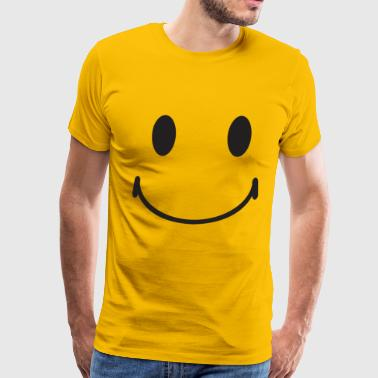 Happy Face smiley face - Men's Premium T-Shirt