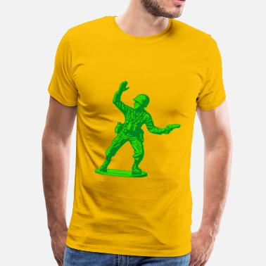 Toy Story green toy soldier - Men's Premium T-Shirt