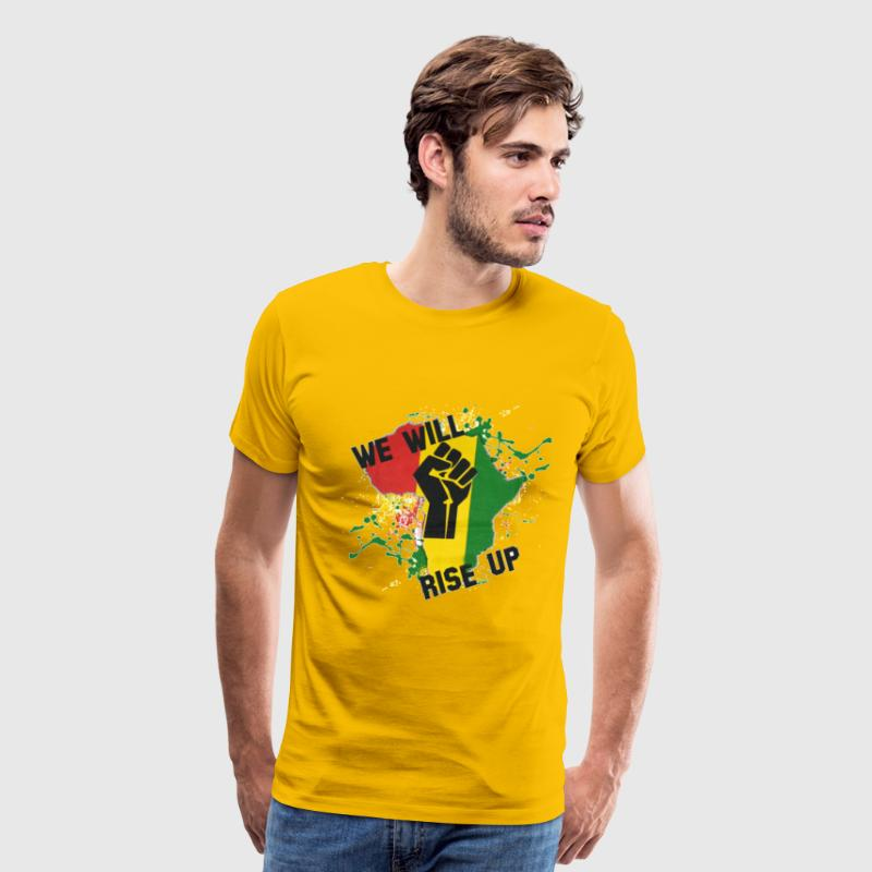 Africa Will Rise - Men's Premium T-Shirt