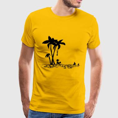 go vacation - Men's Premium T-Shirt