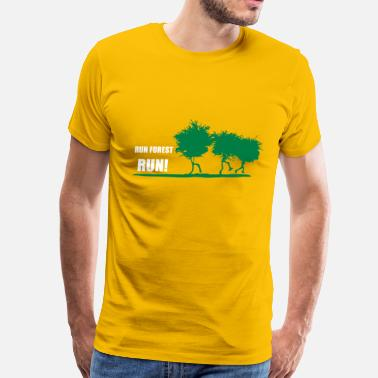 Forest RUN FOREST RUN - Men's Premium T-Shirt