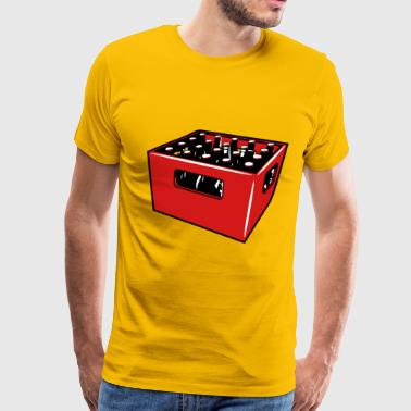 Drink Booze Beer drinking booze box - Men's Premium T-Shirt