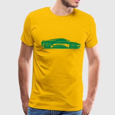 Engine Sportswear Fast car - Men's Premium T-Shirt