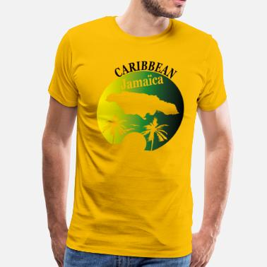 JAMAICA - Men's Premium T-Shirt