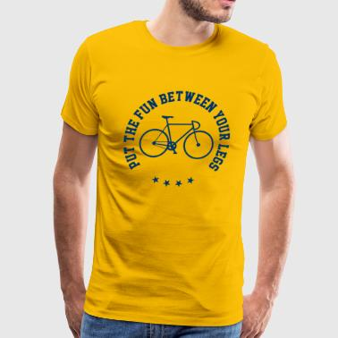Funny Cycling Quotes - Men's Premium T-Shirt