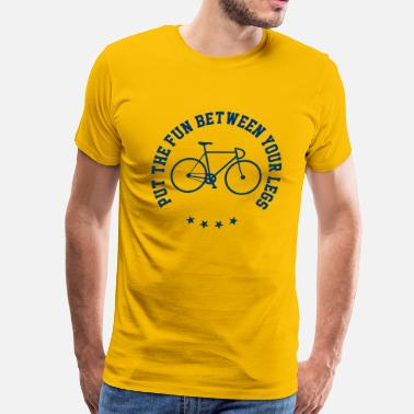 Cycling Quotes Funny Cycling Quotes - Men's Premium T-Shirt