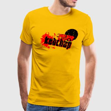 Jackson Five Pulp Fiction T-Shirt (Quentin Tarantino, Ketchup) - Men's Premium T-Shirt