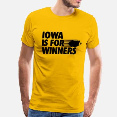 Iowa Football Iowa - Men's Premium T-Shirt
