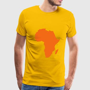Afrique Map of Africa - Men's Premium T-Shirt