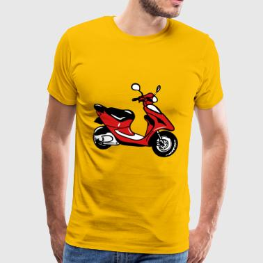 Motor-scooters Motor scooter ride cool - Men's Premium T-Shirt