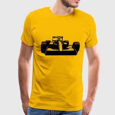 Race Car Racing cool - Men's Premium T-Shirt