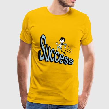 success - Men's Premium T-Shirt