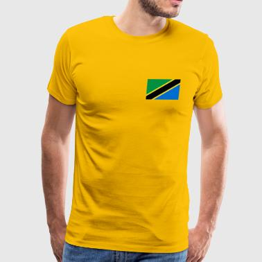 Tanzania Flag - Men's Premium T-Shirt