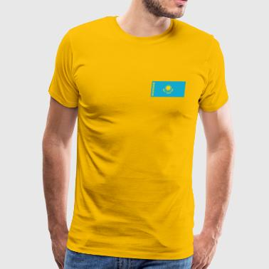 Kazakhstan Flag - Men's Premium T-Shirt