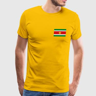 Suriname Flag - Men's Premium T-Shirt