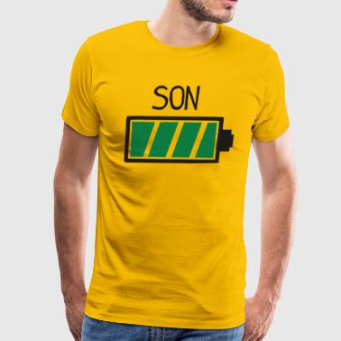 Son Loading Full Battery - Men's Premium T-Shirt