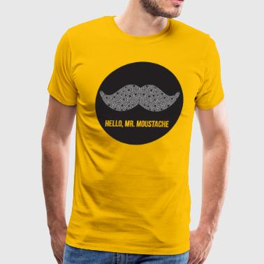 SIR MOUSTACHE MR - Men's Premium T-Shirt
