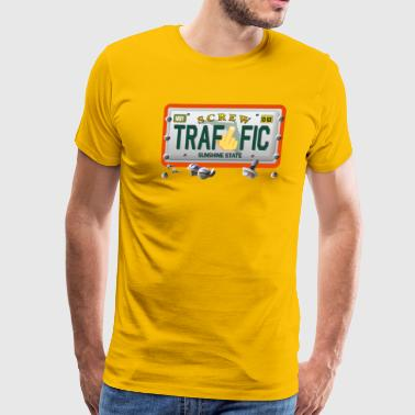 Screw Traffic Tag - Men's Premium T-Shirt