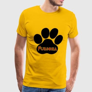 Fursona Furries Furry - Men's Premium T-Shirt