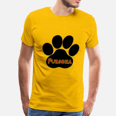 Anthrocon Fursona Furries Furry - Men's Premium T-Shirt