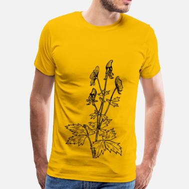 Botany Aconite - Men's Premium T-Shirt