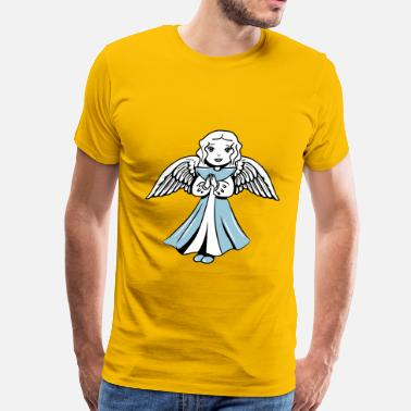 Angel's Wings Angel wings sweet - Men's Premium T-Shirt