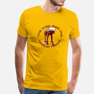 Spazio AT-AT Fiat ordinary brown - Men's Premium T-Shirt