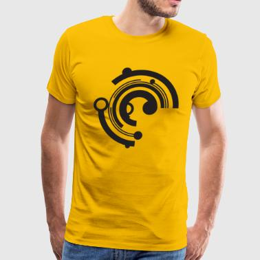 Tech Circle - Men's Premium T-Shirt